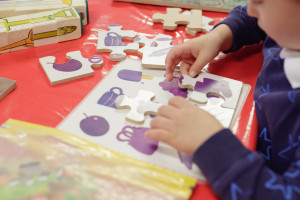Language development through puzzles